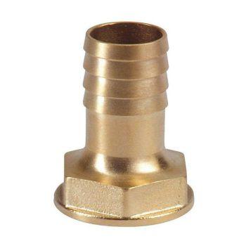 "Slangtule messing 25 mm (1"" binnendraad)"